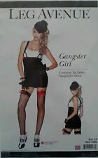 GANGSTER GIRL Leg Avenue Womens Sexy Adult Mobster Halloween Costume