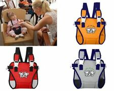 Baby Child Travel Chair Seat Harness Portable Highchair