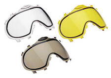 New Dye Invision Thermal Paintball Lens - Clear, Yellow, Smoke