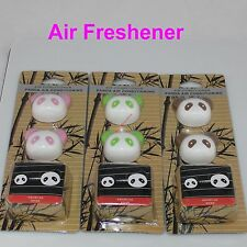 JD01-Xiao Panda Cheapest 2 x CUE Air Freshener Perfume Diffuser For Car 4 color
