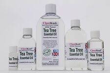 CLASSIKOOL TEA TREE OIL 100% PURE ESSENTIAL AROMATHERAPY MASSAGE ADD 2 CARRIER