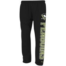Pittsburgh Penguins Reebok BOYS Black Post Game Fleece Sweatpants