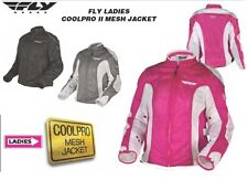 FLY RACING Ladies Cool Pro 2 Motorcycle Jacket Girls Females Riding Cruiser Coat