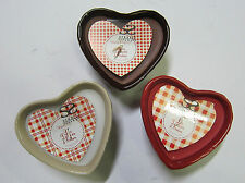 SCENTED HEART SHAPED CANDLE-THE STRAITS LES DELICES D'ANTAN(3 SCENTS)