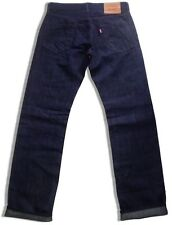 LEVI'S LEVIS CAPITAL E HESHER SELVEDGE GOODS RAW RINSE SELVEDGE LINEN JEANS $148