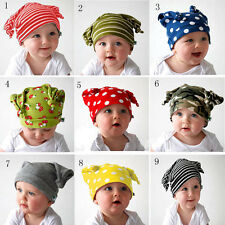 Hats Baby Newborn Infant Toddler Girl Boy Cotton Hat Cap Beanies Photo Prop