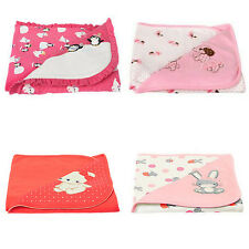 GYMBOREE Baby Girls Blankets Kitty Puppy Floral Penguin Turtle Pink U-Pic NEW