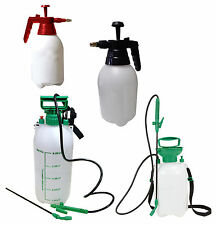 Pressure Spray Bottle 1, 2, 5, 8 litre Sprayer Water Watering Spraying Pump Mist