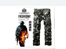 Men *NWT* Combat Cotton Military Camouflage Cargo Pants ARMY Camo trousers 01