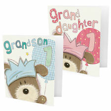 Greeting Card - Large 1st Birthday Granddaughter or Grandson