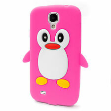 Flexible Penguin Bird Protective Silicone Gel Case Cover for Samsung Galaxy S4