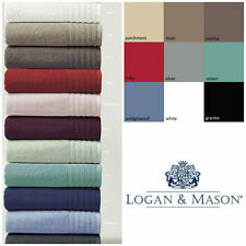 Logan & Mason Cotton Towel Face washer/Hand Towel/Bath sheet/Bath Towel/Bath Mat