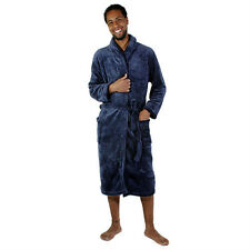 Luxury Port 903 Men's Fleece Lounge & Leisure Robe In Small, Medium & Large