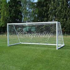 Full Size Football Soccer Goal Post Net Sports Match Training 4 6 8 12 24 ft New