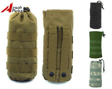 Molle Open Top Water Bottle Pouch Bag with Mesh Bottom 4 Colors Black/CB/ACU/OD