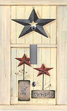Light Switch Plate & Outlet Covers INSPIRATION ~ LIVE SIMPLY Country Stars