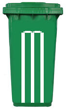 Self Adhesive Vinyl Cricket Stumps Sticker Suitable For A Wheelie Bin