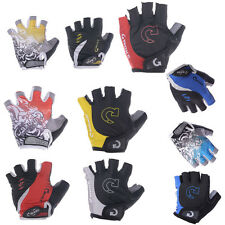 Racing Cycling Bike Bicycle Gel Half Finger Gloves Size  M L XL Three Colors