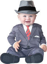 Infant Baby Boys Gangster Business Suit Halloween Costume