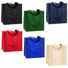 REUSABLE SHOPPING BAG TOTES…6 Vibrant Colors/Sold Separately …Brand new!