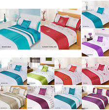 5pc Bed in a Bag Bedding Duvet Quilt Cover Set NEW Designs, Double & King Size