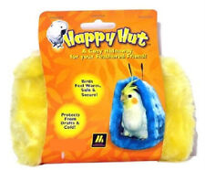 """MULTIPET HAPPY HUT LARGE BED 6.5"""" BIRD UPICK THE COLOR FREE SHIPPING IN THE USA"""
