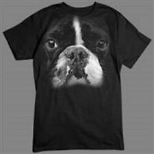 Big Boston Terrier In Your Face Short Sleeve T Shirt
