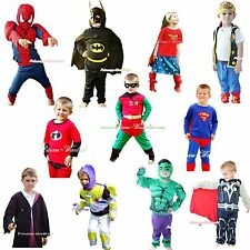 Halloween Children Costume Super Heros Bat Buzz Dress Up Party Cosplay Clothing