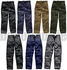 Dickies Work Wear Cargo Combat Trousers Pants Mens WD814 WD884 Black Navy Khaki