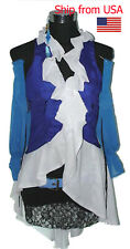 Complete Final Fantasy X-2 Yuna and Lenne Songstress Cosplay Halloween Costume