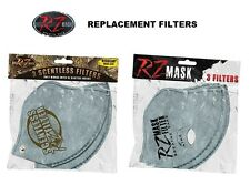 RZ Face Mask Replacement Filters Carbon RZR Replace Filter Mens Womens Facemask