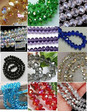 Wholesale New Swarovski Crystal Loose Beads 3x4mm+4x6mm+6x8mm 16 Colors
