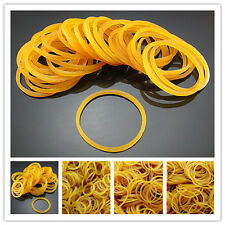 Free Lot Bulk pack Yellow clips Rubber Bands Packaging Elasticity Braiding Ropes