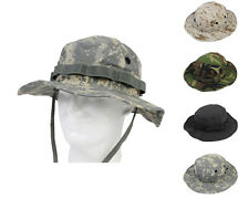 Airsoft Tactical Military Waterproof Fishing Boonie Hat Cap 2 Sizes 4 Colors A
