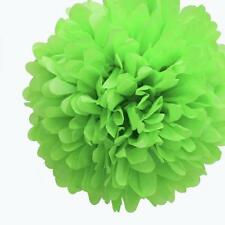 "5 x 8"" 20cm TISSUE PAPER POM POMS Pompoms DECORATIONS Wedding PARTY Birthday"