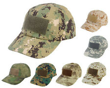 Airsoft Outdoor Tactical Military Baseball Cap Hat with Loop Attachment Base