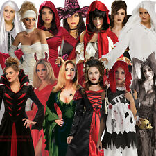 Adult Ladies Halloween Costume Fancy Dress Costume Outfit New Undead Women