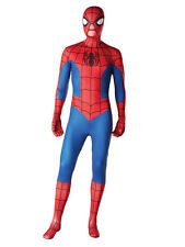 Spiderman Second 2nd Skin Body Suit Fancy Dress Superhero Mens Adult Costume