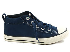 CONVERSE Chuck Taylor All Star Cab M sneakers PELLE BLU DRESS BLUE 628739C bimbo