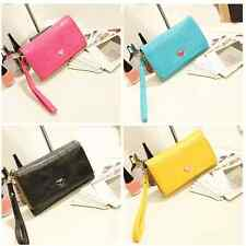 Women's Envelope Wallet Case Purse Samsung Galaxy S2 S3 Iphone 4 4S Phone Bags