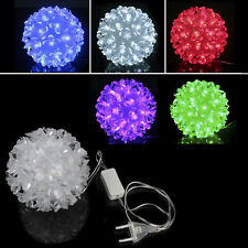 50 LED Petal Round Ball Shaped Light Xmas Christmas Wedding Fairy Festival Decor