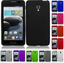 For LG Optimus F6 D500 MS500 Silicone Jelly Skin Cover Case
