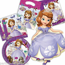 Sofia The First Princess Party Supplies Tableware Balloons Listing PS