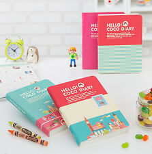 Brand New Hello CoCo Diary Ver. 4 Dairy Journal Planner Organizers for 2014
