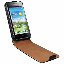 ULTRA SLIM Vertical Leather Flip Case Mobile Phone Cover for Huawei Ascend G510