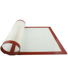 Silicone Fibreglass Bakeware Silpat Baking Tray Oven Liner Dough Rolling Mat