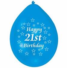 21st Happy Birthday Party Balloons Helium Air Latex Colour CHOOSE YOUR QUANTITY