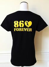 Steelers HINES WARD 86 Forever Women's T-Shirt Tee in Black - S M L XL 2XL 3XL