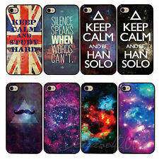 Galaxy Universe Pattern On Hard Back Skin Case Cover for Apple IPhone4 4S 5 5S