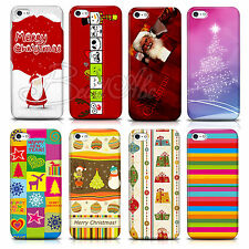 New PC Christmas Tree Santa Claus Gift Phone Skin Case Cover for Iphone4 4S 5 5S